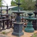 Cast Iron & Marble Garden