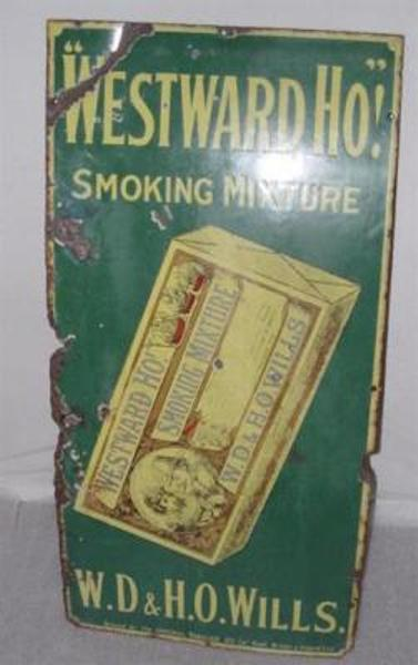 Westward Ho! Smoking Mixture - W.D. and H.O. Wills---ST14