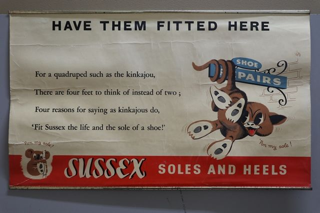 Sussex Advertising Card