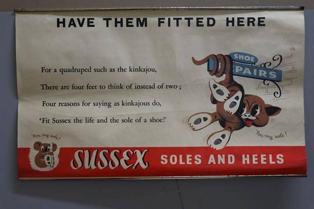 Sussex Advertising Card