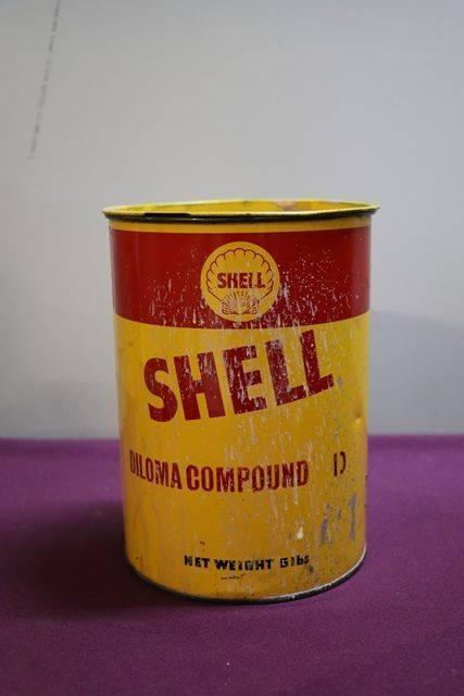 Australian Shell 5 lb Diloma Compound D Grease Tin