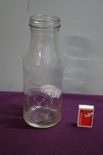 Atlantic Arrows Quart Oil Bottle