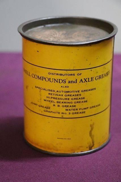 Australian Shell 1 lb Grease Tin