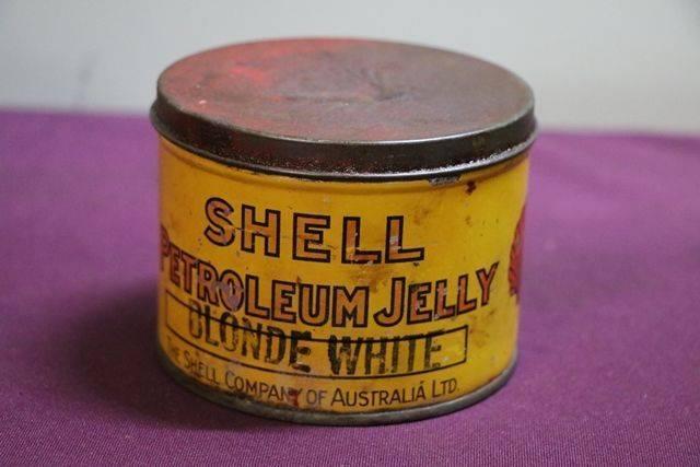 Australian Shell 1 lb Petroleum Jelly andquotBlonde Whiteandquot