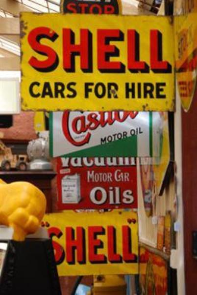 Assorted Gas/Fuel Enamel Signs --- S A 5