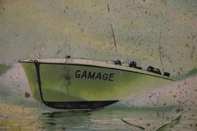 Gamages 5 Gallon Motor Oil Drum