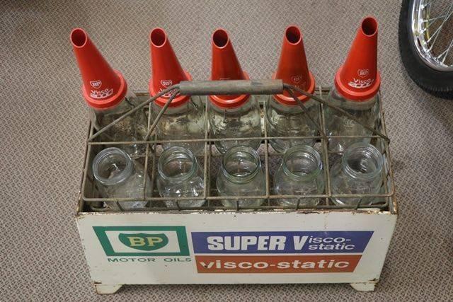 BP 10 Oil Bottle Double Sided Rack