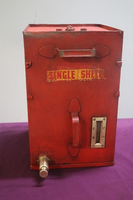 Single Shell Portable Oil Tank # | XXXX Antique Complex