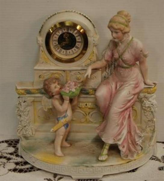 Fine German Biscuite Porcelain Group C1900-20 --- C 62