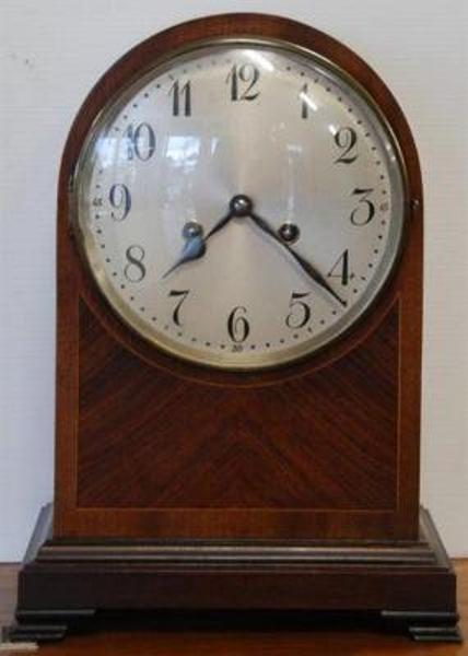 Late C19th Mahogany 8 Day Clock C1900 --- C 42