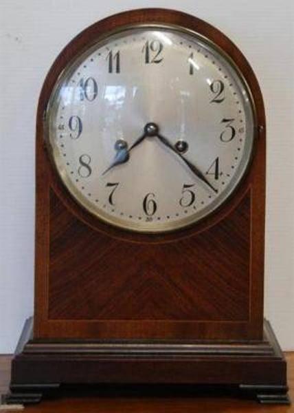 Late C19th Mahogany 8 Day Clock C1900 --- C 42
