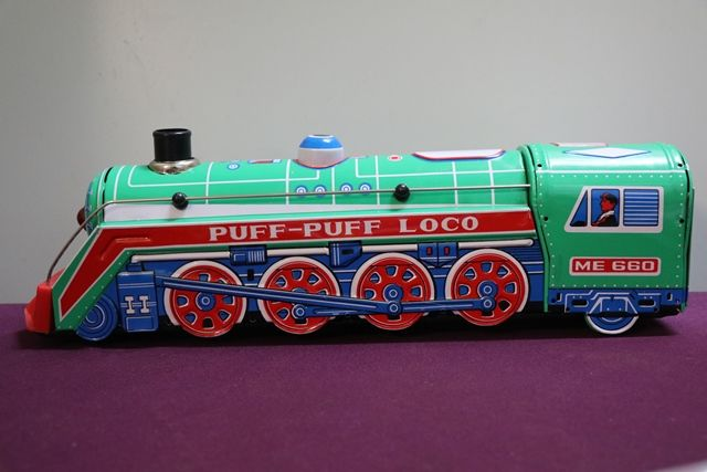 Battery Operated PuffPuff Loco Train
