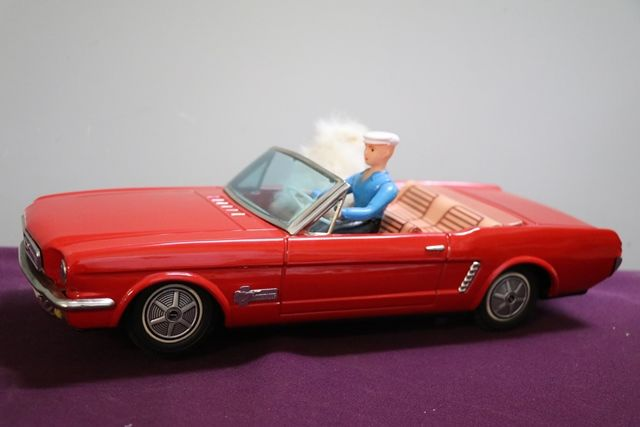 Battery Operated Alps Japanese Ford Mustang  andquotAuto Doggieandquot
