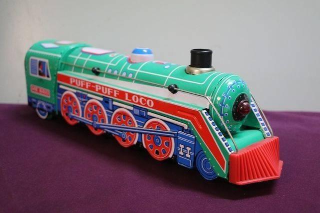 Battery Operated Puff Puff Loco Tin Train