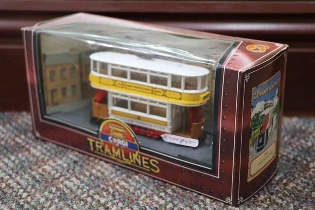 Corgi Tramlines Toy Glascow Corporation