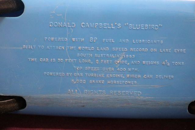 Donald Campbelland39s Bluebird Car Toy