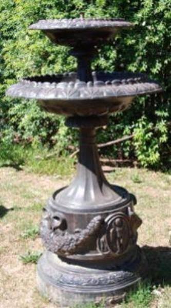 Victoria Cast Iron Fountain --- GF 38