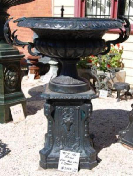 Top of the Range Cast Iron Urn and Stand --- GF 31
