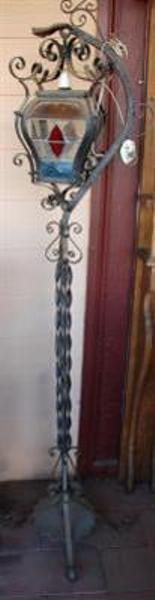 Ornate Cast Iron L ---GF7