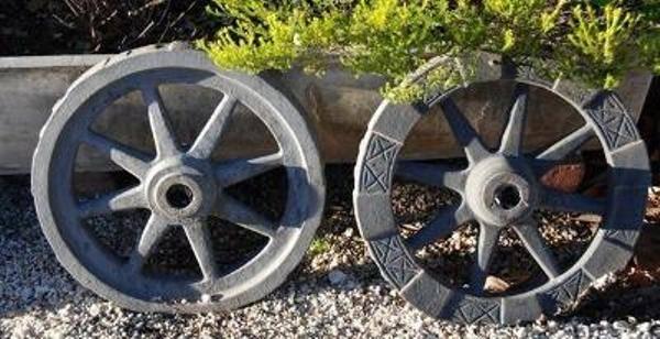 Cast Iron Wheels --- CI 48