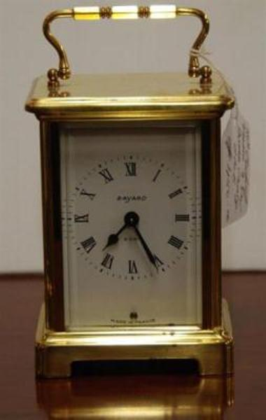 Antique 20th Century French 8 Day Brass Carriage Clock --- C 55