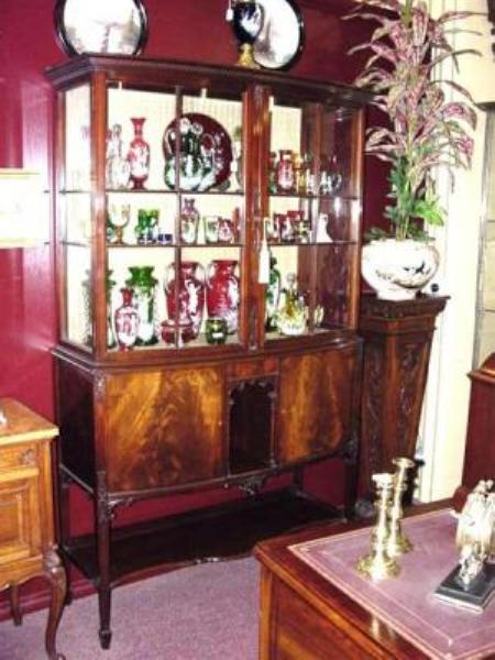 Pair of Late 19 Century Maples Display Cabinets   ant 71