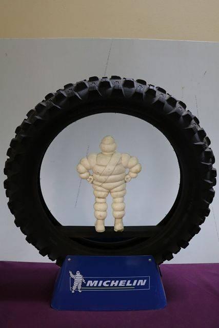 Michelin Bibendum and Tyre Promotional Advertising Display