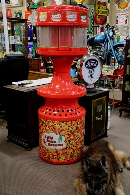 A Large and Interesting Jellybean Shop Display Dispenser