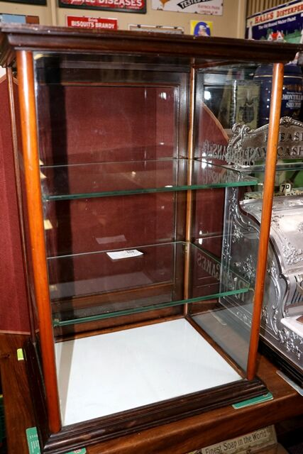 Antique Scribbans and co Rich Cakes Shop Counter Cabinet