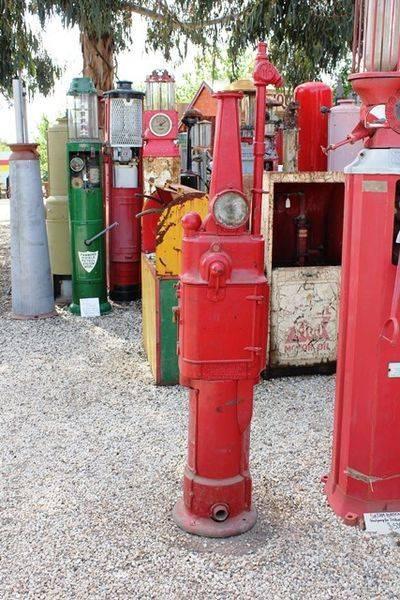 1918 Rapid Dayton Manual Petrol Pump For Restoration