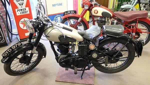 1946 BSA C11 250cc Motorcycle