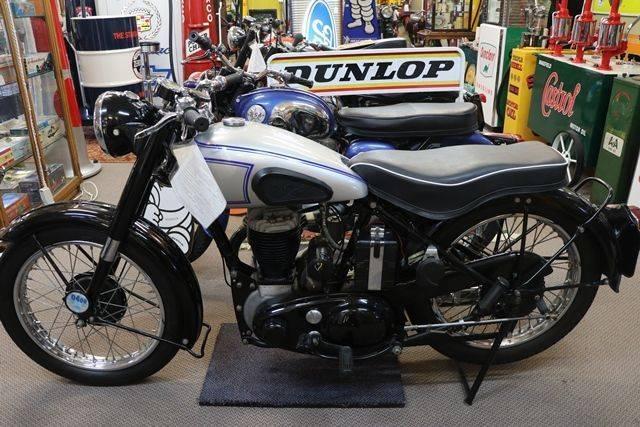 1948 Vintage BSA M21 591cc Single Motorcycle