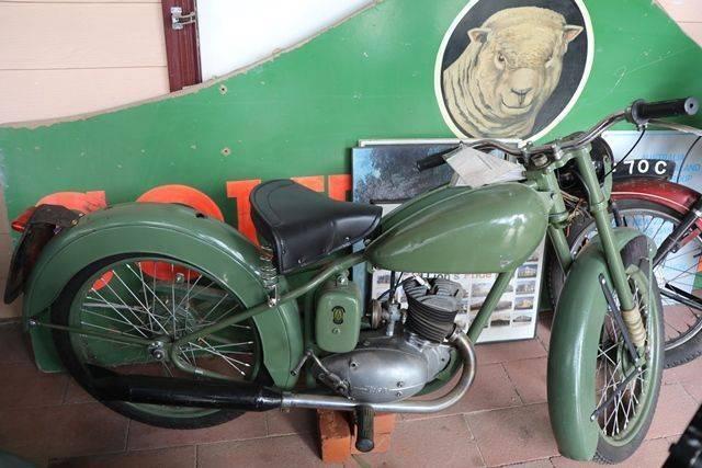 1952 Classic  BSA D1 Rigid Motorcycle
