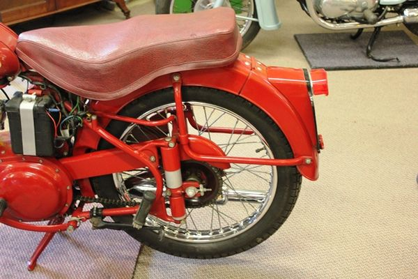 1955 BSA C11G 250cc Motorcycle