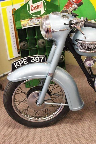 1959 Triumph 3TA 350cc Motorcycle