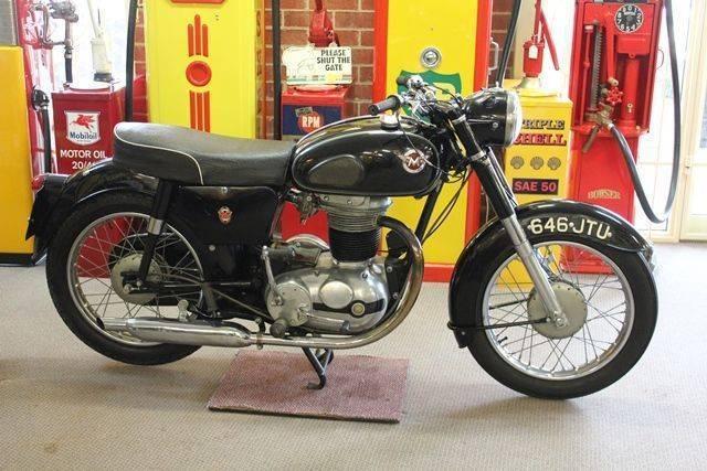 1960 Matchless D5