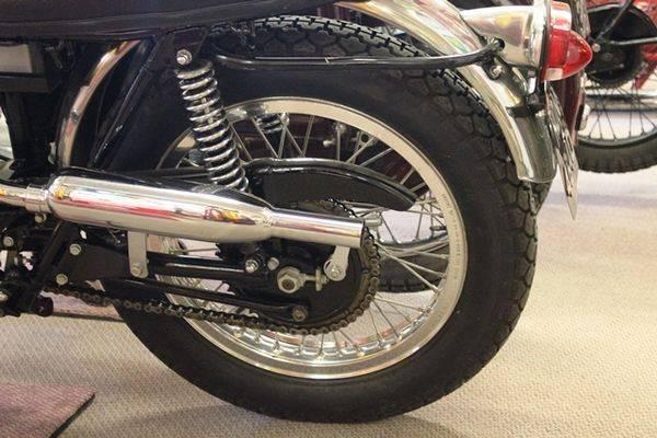 1966 Triumph T100C 500cc Motorcycle