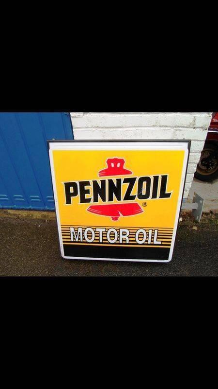 2019Pennzoil Motor Oil Light Box