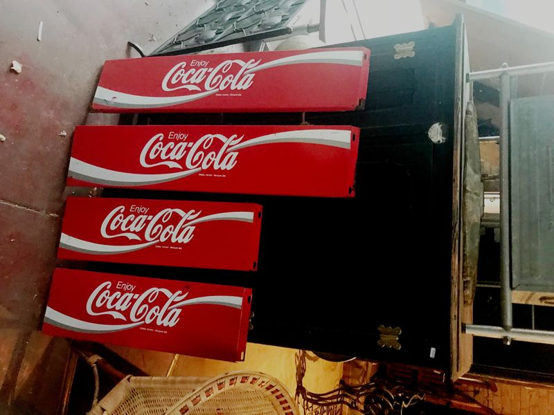 2019 4  Coca Cola Strip Tin Signs