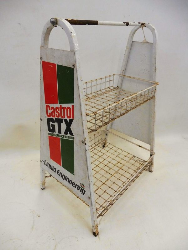 2019 Castrol GTX Forecourt Display Rack