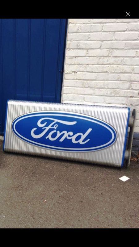 2019 Ford Retro Double Sided Light Box