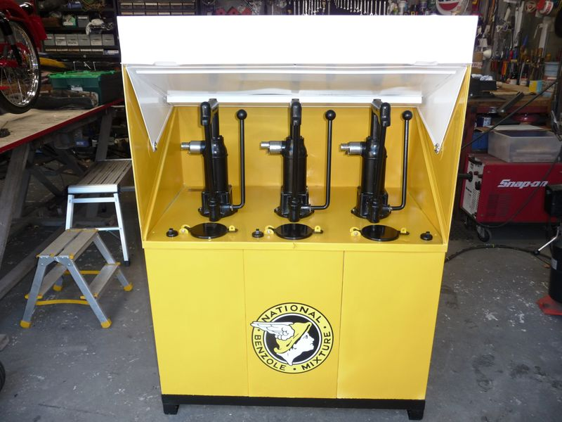 2019 National Benzole 3 Pump Oil Cabinet