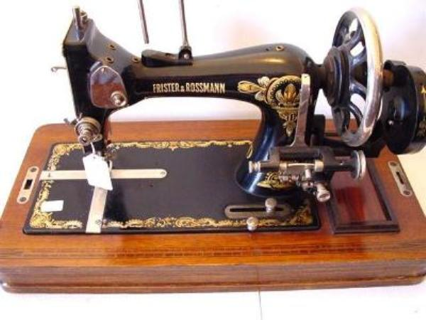 FRISTER AND ROSSMAN BOXED SEWING MACHINE ---SEW23