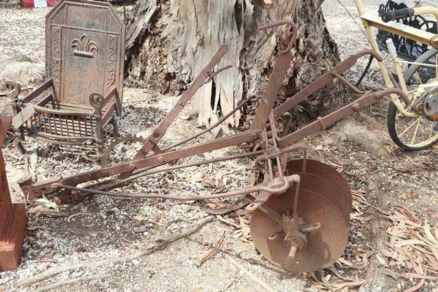 3 Disc Cultivator Garden Hand Push Plow