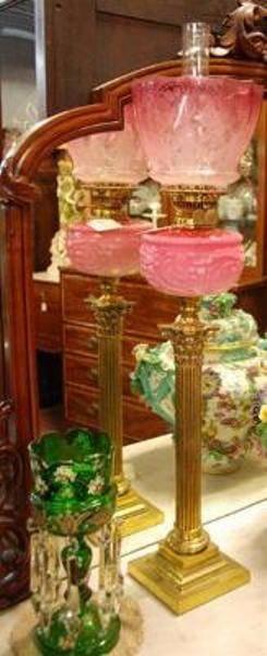 Victorian Banquet Lamp C1885 LM 30