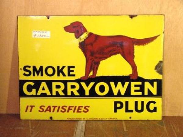 SMOKE CARRYOWEN PLUG SIGN---ST82