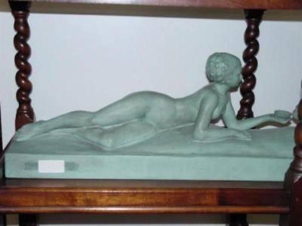 ART DECO TERRA-COTTA NUDE ---AD 26