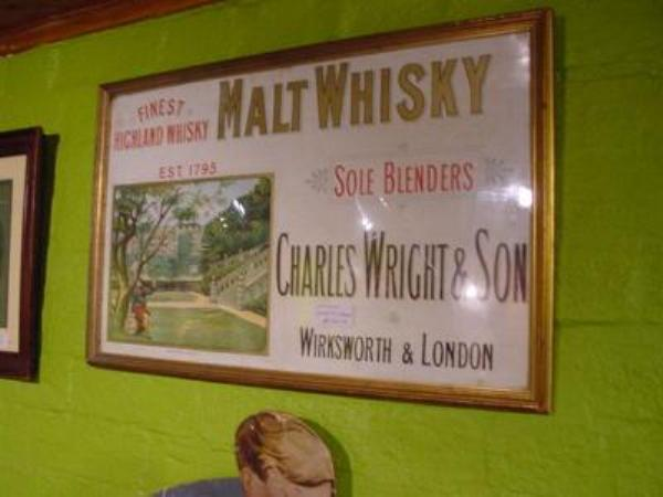 FRAMED MALT WHISKY ADV POSTER --- ADV 119