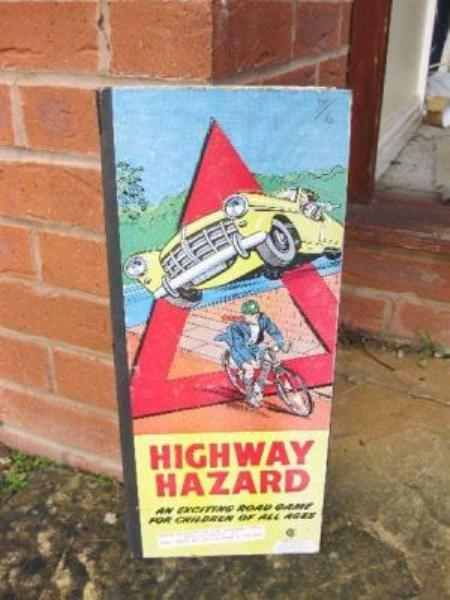 Highway hazard Board game---SA74