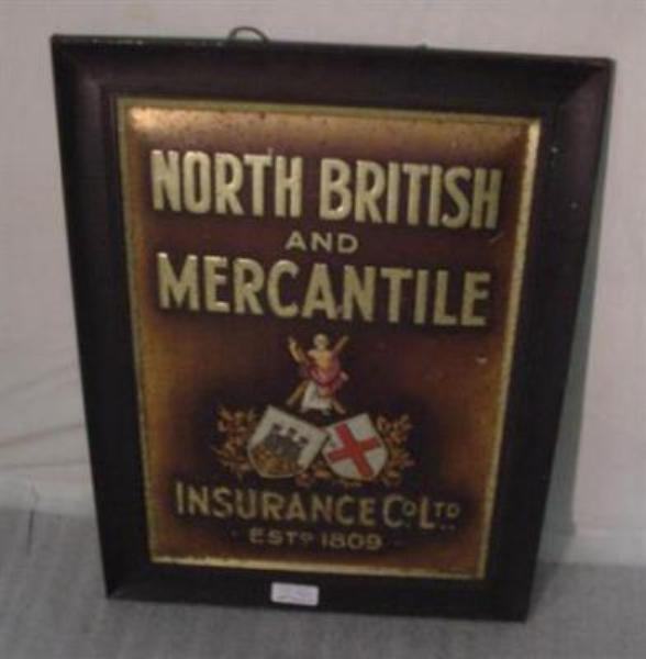 North British and Mercantile Insurance Co Ltd Est 1809--SM2